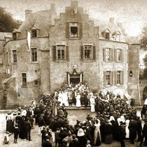 Kasteel Geijsteren Huwelijk 1908